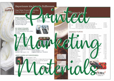 Printed Marketing Materials